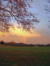 RAINBOWS ON THE FARM Royalty Free Stock Photography
