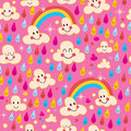 Rainbows pattern Royalty Free Stock Photography