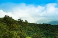 Rainbows at viewpoint doi inthanon Royalty Free Stock Photography