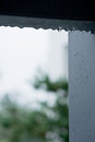 Raindrop the autumn small close up Royalty Free Stock Photography