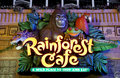 Rainforest Cafe sign - Atlantic City NJ Stock Photos