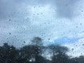 Raining day Royalty Free Stock Photo