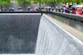 Ground Zero, sombre rainy day Royalty Free Stock Photo