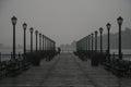 Rainy day in San Francisco Royalty Free Stock Photo