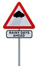 Rainy Days Ahead Royalty Free Stock Photo