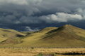 Rainy Season Orkhon Valley of Mongolia Stock Image