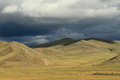 Rainy Season Orkhon Valley of Mongolia Stock Photography