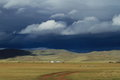 Rainy Season Orkhon Valley of Mongolia Royalty Free Stock Images