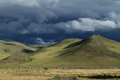 Rainy Season Orkhon Valley of Mongolia Royalty Free Stock Photography
