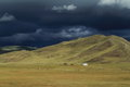 Rainy Season Orkhon Valley of Mongolia Royalty Free Stock Image