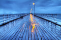 Rainy Shorncliffe Pier in HDR Stock Photos