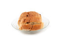 Raisin bread. Stock Photos