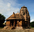 Rajarani temple of ancient hindu religion Royalty Free Stock Photo