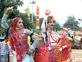 Rajasthani dance Royalty Free Stock Photos