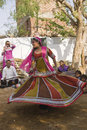 Rajasthani Dancer Stock Images