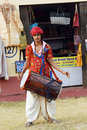 Rajasthani Folk Artist Royalty Free Stock Photography