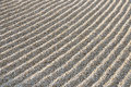 Raked Sand Stock Photos