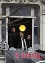 Rakel Dink in Hrant Dink Commemoration Royalty Free Stock Image