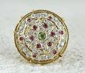 Rakhdi indian royal jewelry borla Stock Photography