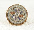 Rakhdi indian royal jewelry borla Royalty Free Stock Photos