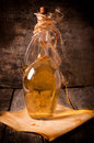 Rakia bottle Royalty Free Stock Photo
