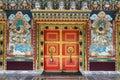 Ralang Monastery door Ravangla, Sikkim, India Royalty Free Stock Photo