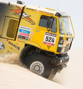 Rally Dakar 2013 Stock Photo
