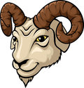 Ram head mascot illustration Royalty Free Stock Photo