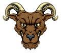 Ram mascot head Royalty Free Stock Photo