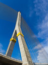 Rama VIII bridge in Bangkok Stock Photography