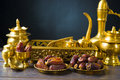 Ramadan food also known as kurma palm dates photo Stock Photo