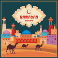 Ramadan greeting card multicolor