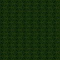 Ramadan Islam circle green symmetry seamless pattern Royalty Free Stock Photo