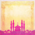 Ramadan kareem card Royalty Free Stock Photo