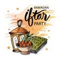Ramadan Kareem Iftar party celebration