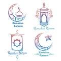 Ramadan Kareem logo design