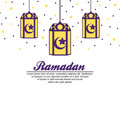 Ramadan themed banner design