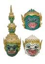 Ramayana khon mask