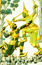 Ramayana literature Royalty Free Stock Image
