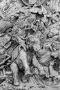 The Ramayana sculpture