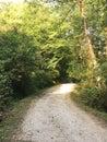 Rambling country road Royalty Free Stock Photo