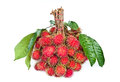Rambutan fruit. Royalty Free Stock Photos