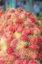 Rambutan thai fruit Royalty Free Stock Photography