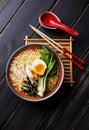Ramen Asian noodles Royalty Free Stock Photo