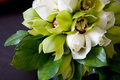 Ramo de la boda de orquídeas Fotografía de archivo libre de regalías