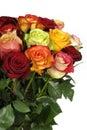 Ramo de rosas Fotos de archivo