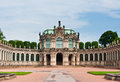 Rampart pavilion in zwinger palace dresden germany Royalty Free Stock Photography