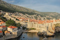 Ramparts and citadel. Dubrovnik. Croatia Royalty Free Stock Photo