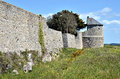 Ramparts citadel of port louis in france the the morbihan department brittany north western Royalty Free Stock Photos