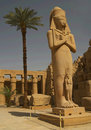 Ramses II statue Royalty Free Stock Photo